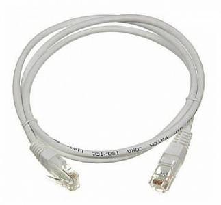 Кабель Патч-корд Lanmaster UTP LAN-PC45/U5E-3.0-GY вилка RJ-45-вилка RJ-45 кат.5е 3м серый