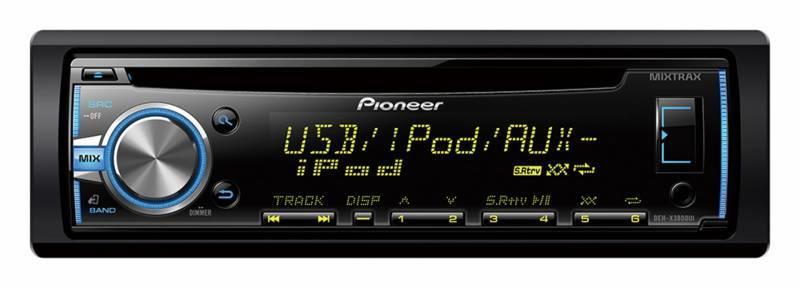 Автомагнитола Pioneer DEH-X3800UI - фото 1