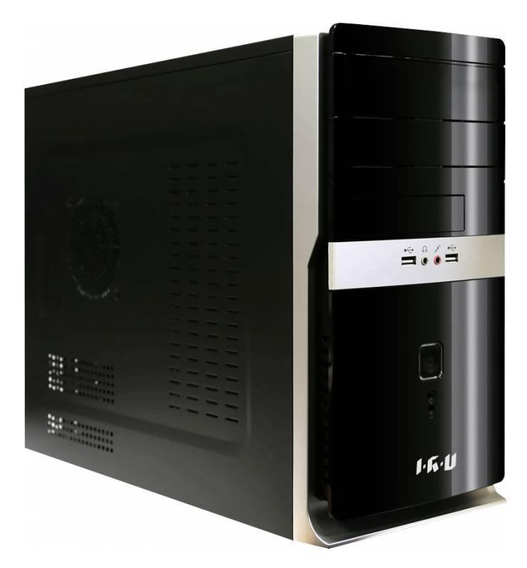 Системный блок IRU Office 311 черный - фото 1