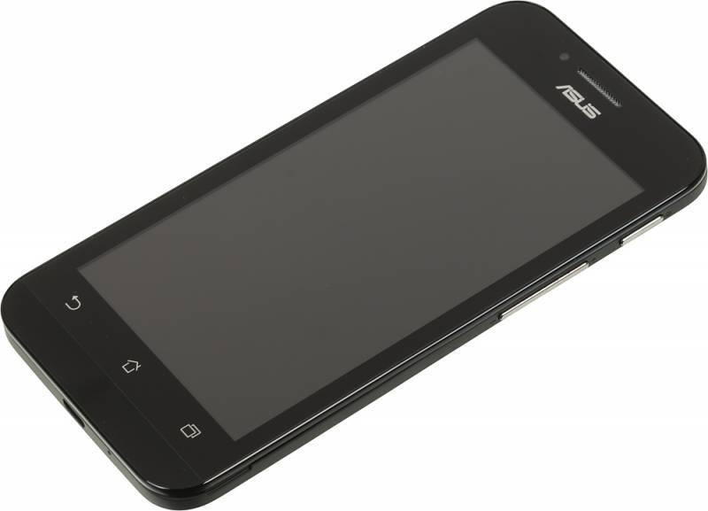Смартфон Asus Zenfone Go ZC451TG 8ГБ черный - фото 3