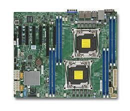 Серверная материнская плата Soc-2011 SuperMicro MBD-X10DRL-i-B ATX - фото 1