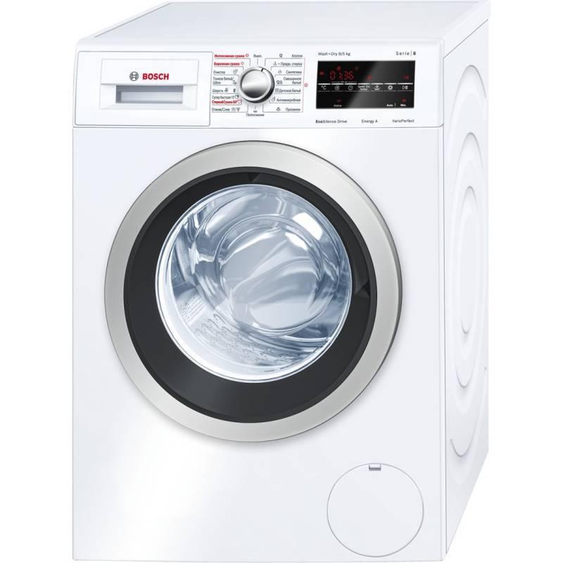Стиральная машина Bosch WVG30461OE белый - фото 1