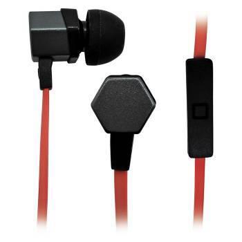 Гарнитура BBK EP-1540S серый/оранжевый