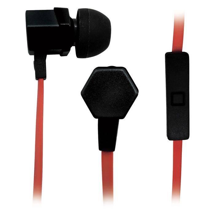 Гарнитура BBK EP-1540S черный/оранжевый - фото 1