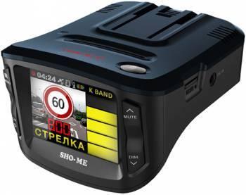 Радар-детектор Sho-Me Combo №1-А7 Видеорегистратор GPS приемник G-сенсор