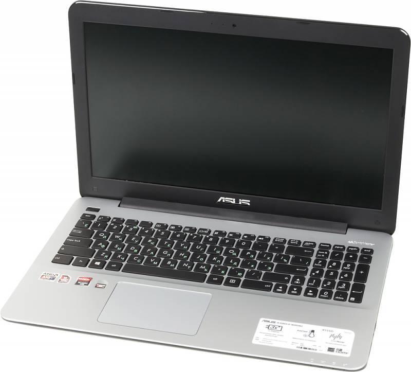 "Ноутбук 15.6"" Asus X555DG-XO020T черный - фото 1"