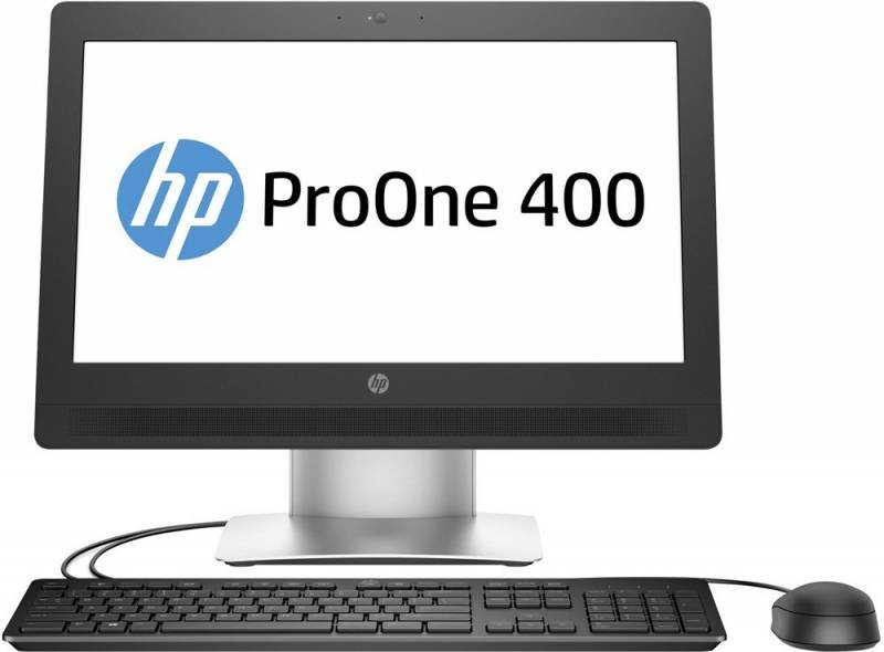 "Моноблок 20"" HP 400 G2 черный/серый - фото 1"