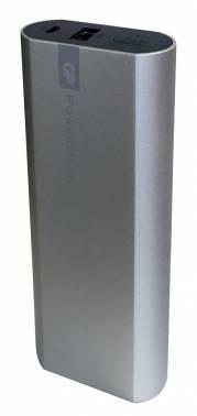 Мобильный аккумулятор GP Portable PowerBank FN05M серебристый (GPFN05MSE-2CRB1)