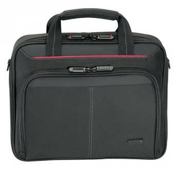 Сумка для ноутбука Targus CN31 черный, нейлон, рекомендуемая диагональ 15, съемный ремень, карманов внешних: 1шт, карманов внутренних: 4шт (CN31-**)