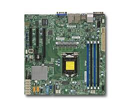 Серверная материнская плата Soc-1151 SuperMicro MBD-X11SSH-F-O mATX Ret