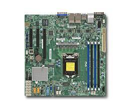 Серверная материнская плата Soc-1151 SuperMicro MBD-X11SSH-LN4F-O mATX