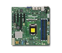 Серверная материнская плата Soc-1151 SuperMicro MBD-X11SSM-F-O mATX Ret