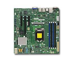 Серверная материнская плата Soc-1151 SuperMicro MBD-X11SSL-F-O mATX Ret