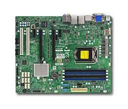 Серверная материнская плата Soc-1151 SuperMicro MBD-X11SAE-F-O ATX