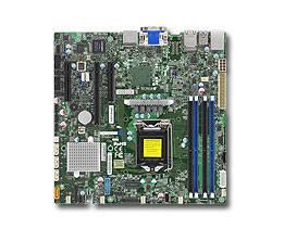 Серверная материнская плата Soc-1151 SuperMicro MBD-X11SSZ-F-O mATX Ret