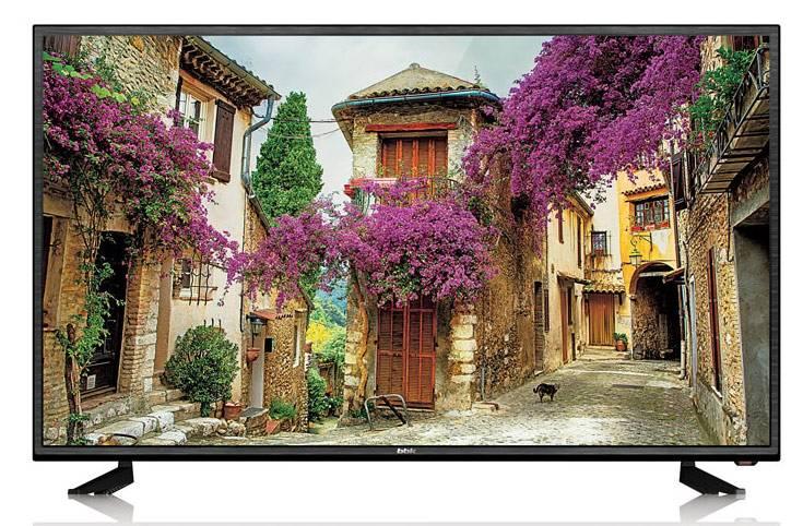 "Телевизор BBK Lira 43LEX-5007/FT2C  43"" (109.22 см) FULL HD (1080p) DVB-T DVB-T2 DVB-C WiFi Smart TV черный - фото 1"