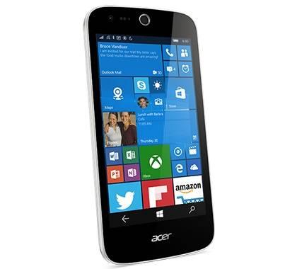 Смартфон Acer Liquid M330 8ГБ белый - фото 2