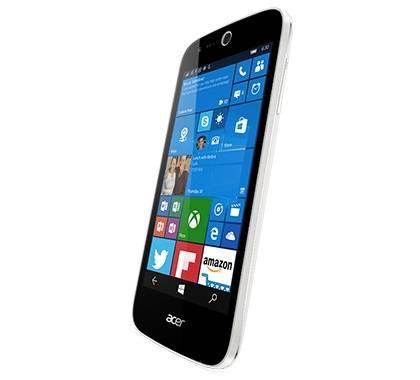 Смартфон Acer Liquid M330 8ГБ белый - фото 3