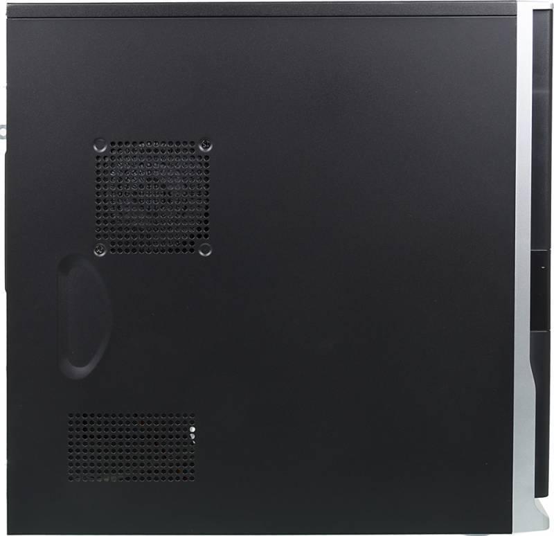 Корпус ATX Foxconn TSAA-424 черный/серебристый - фото 2