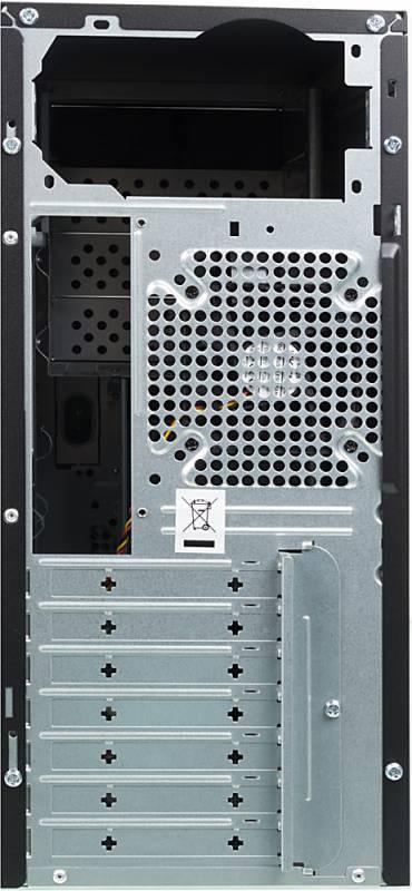 Корпус ATX Foxconn TSAA-424 черный/серебристый - фото 3