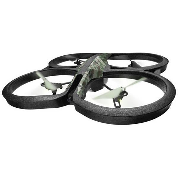 Квадрокоптер PARROT AR.Drone 2.0 Elite Edition Лесной камуфляж зеленый - фото 1