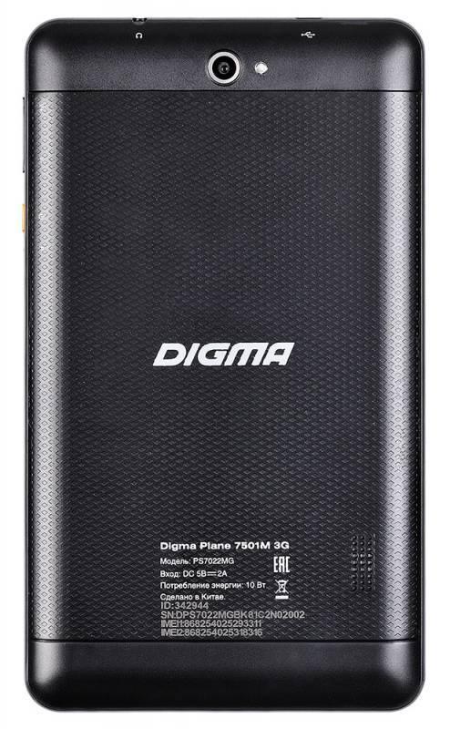 """Планшет 7"""" Digma Plane 7501M 3G 8ГБ черный - фото 2"""