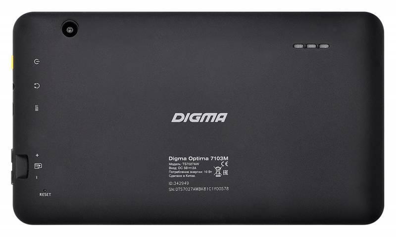 "Планшет 7"" Digma Optima 7103M 8ГБ черный - фото 2"