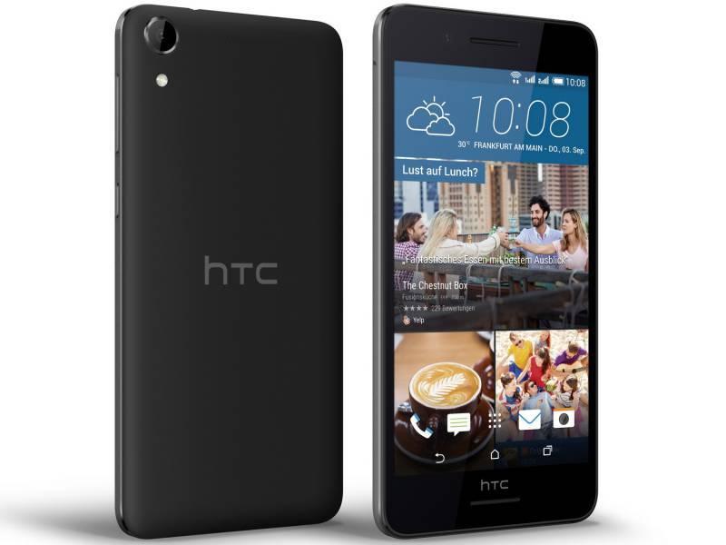 Смартфон HTC Desire 728G dual sim черный - фото 1