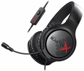Наушники с микрофоном Creative Sound BlasterX H3 черный