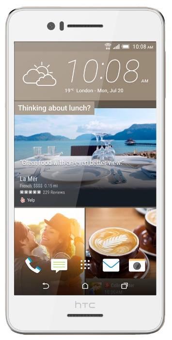 Смартфон HTC Desire 728G dual sim белый - фото 1