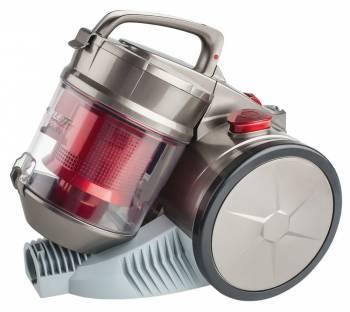 Пылесос Scarlett SC-VC80C04 серый / красный