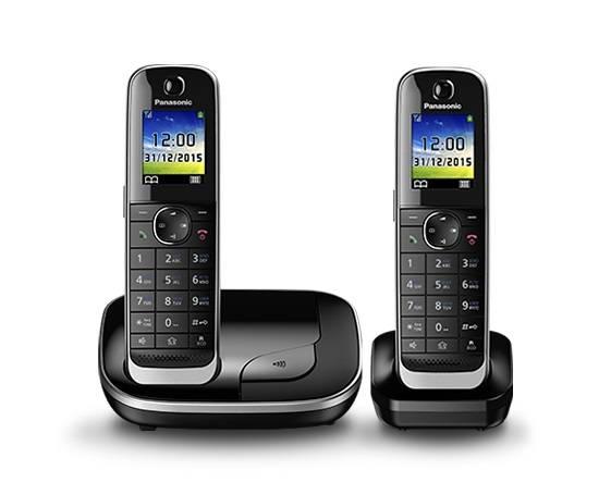 Телефон Panasonic KX-TGJ312RUB черный - фото 1