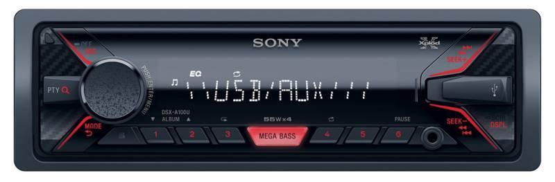 Автомагнитола Sony DSX-A100U - фото 1