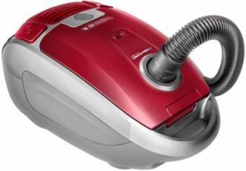 Пылесос Redmond RV-327 красный / серый