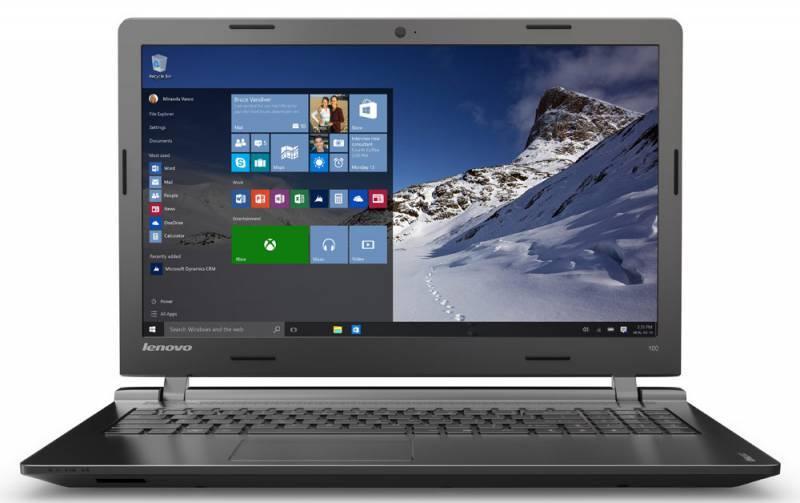 "Ноутбук 15.6"" Lenovo IdeaPad 100-15IBY черный - фото 1"