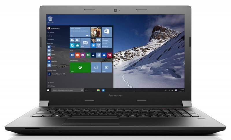 """Ноутбук Lenovo IdeaPad B5180  15.6"""" 1920x1080 Intel Core i5 6200U 2.3ГГц 6144МБ DDR3L 1600МГц 1000Гб DVD-RW AMD Radeon R5 M330 2048МБ Free DOS BT - фото 1"""