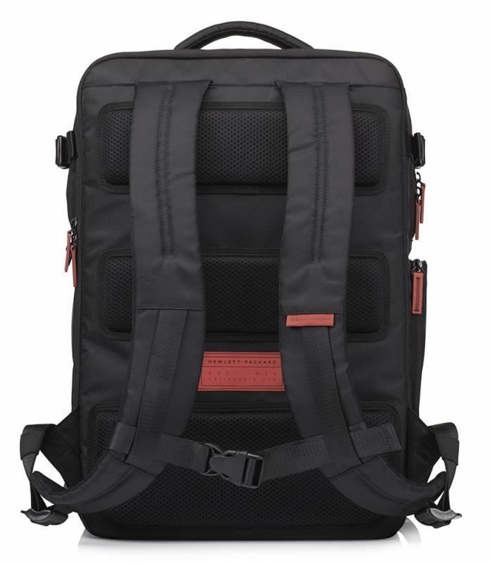 """Рюкзак для ноутбука 17.3"""" HP Omen Gaming черный/красный - фото 2"""