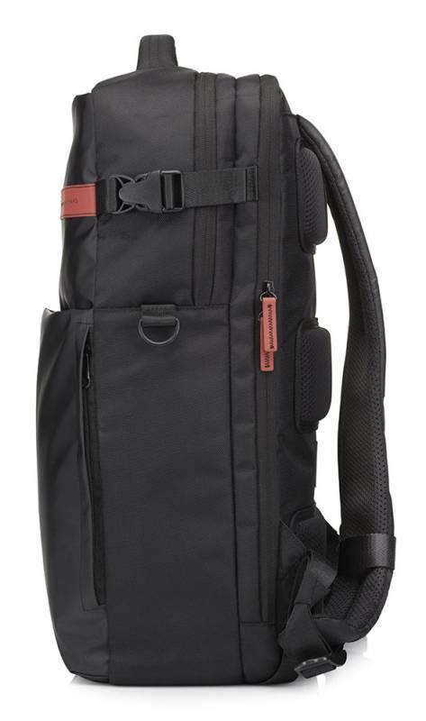 """Рюкзак для ноутбука 17.3"""" HP Omen Gaming черный/красный - фото 3"""