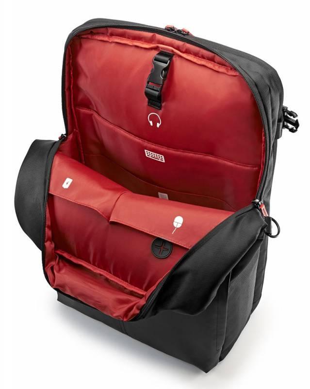 """Рюкзак для ноутбука 17.3"""" HP Omen Gaming черный/красный - фото 4"""