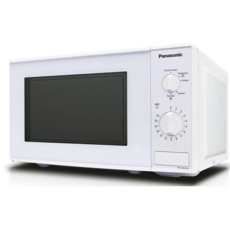 СВЧ-печь Panasonic NN-SM221WZTE белый - фото 1