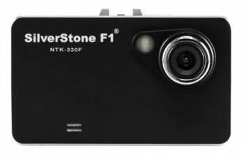 Видеорегистратор Silverstone F1 NTK-330 F черный, разрешение видеозаписи 1920x1080, угол обзора 140гр.