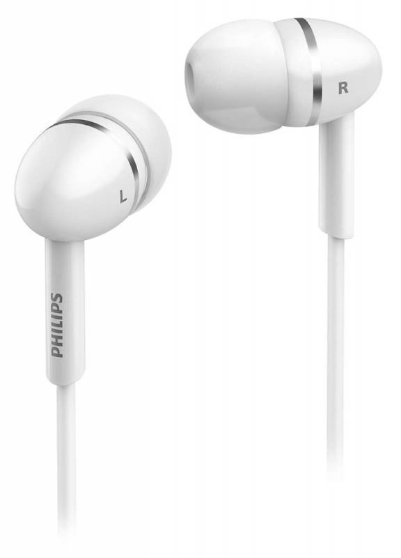 Наушники Philips SHE1450WT/51 белый - фото 1