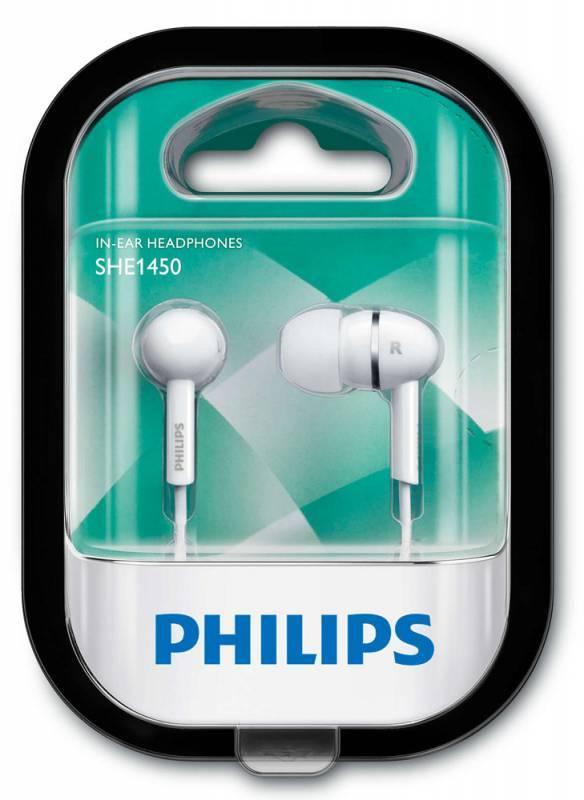 Наушники Philips SHE1450WT/51 белый - фото 3