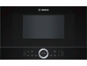 Встраиваемая микроволновая печь Bosch BFL634GB1 черный
