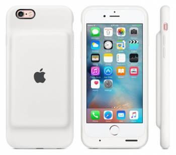 Чехол Apple Smart, для Apple iPhone 6S, белый (MGQM2ZM/A)