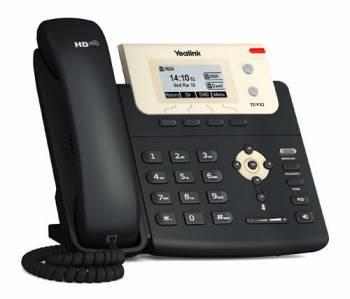 Телефон IP Yealink SIP-T21P E2 черный