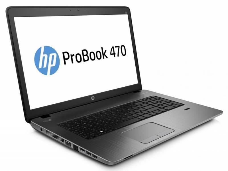 """Ноутбук 17.3"""" HP ProBook 470 G3 черный - фото 2"""