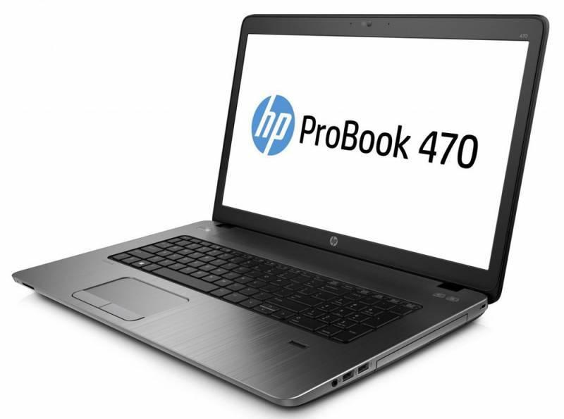 """Ноутбук 17.3"""" HP ProBook 470 G3 черный - фото 3"""