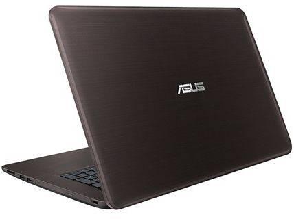 """Ноутбук 17.3"""" Asus X756UA-TY013T (90NB0A01-M00420) темно-коричневый - фото 3"""