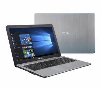 Ноутбук Asus X540SA-XX079T, процессор Intel Pentium N3700, оперативная память 4Gb, жесткий диск 500Gb, привод DVD-RW, видеокарта Intel HD Graphics, диагональ 15.6, 1366x768, Windows 10 64-bit, серебристый (90NB0B33-M02590)